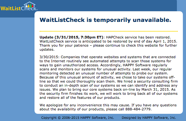 Is How To Check Section 15 Waiting List Status Still ...