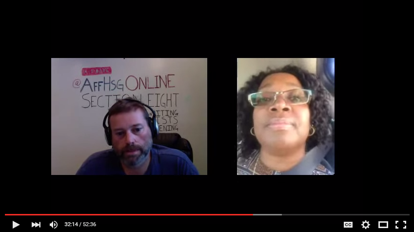 Affordable Housing Talk with Dave Layfield – 10/7/2015
