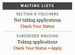 Housing Authority Web Review: King County Housing Authority