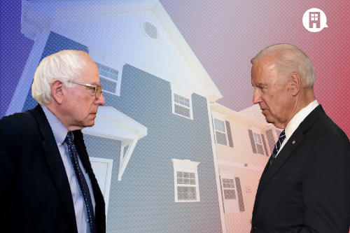 Comparing Sanders and Biden on low income housing