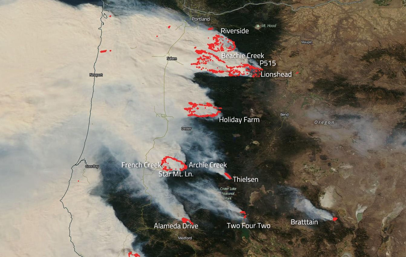 How to get recovery assistance for west coast wildfires